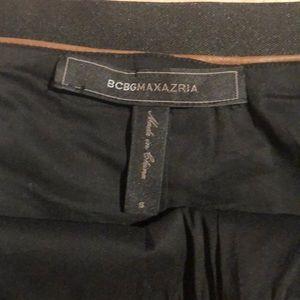 BCBGMaxAzria Skirts - BCBG leather looking mini skirt. S